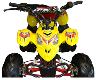 Fourtrack 110 P Yellow