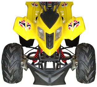 Fourtrack 110 V4 - Yellow